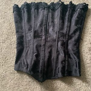 Fredrick's Corset 32 black